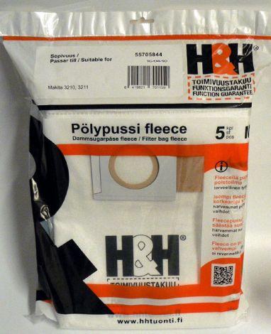 H&H fleecepussit Makita 3210 (5kpl)