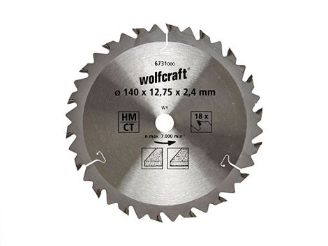 140mm Z-18 (20/12,7mm) WOLFCRAFT