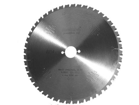 254mm Z-48 neg (30mm) METABO PRECISION CUT
