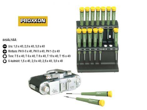 Proxxon mikroruuvinväänninsarja