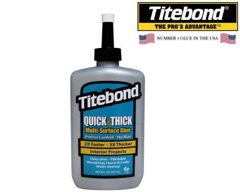 Titebond Quick & Thick -yleisliima (237ml)