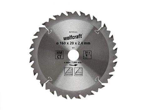 160mm Z-20 (20/16mm) WOLFCRAFT