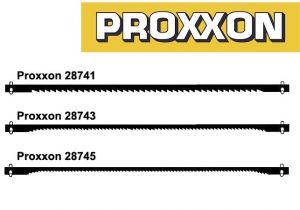 Tappikiinnitteinen lehtisahanterä PROXXON (12kpl)