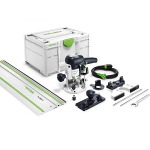 Festool OF 1010 EBQ-Set yläjyrsin + ohjauskisko