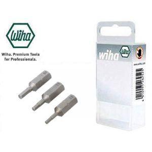 Wiha Standard ruuvikärjet HEX 2, 2,5 ja 3 (25mm)
