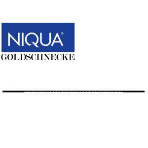 Lehtisahanterä NIQUA GOLDSCHNECKE (12kpl)