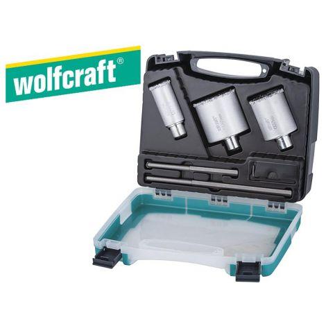 Wolfcraft HM-kuppiteräsarja (3-os.)