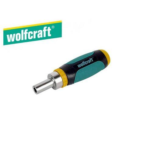 Wolfcraft miniruuvinväännin räikällä