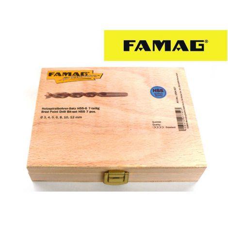 Famag HSS-G puuporasarja (7-os.)