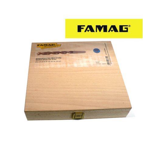 Famag HSS-G puuporasarja (10-os.)