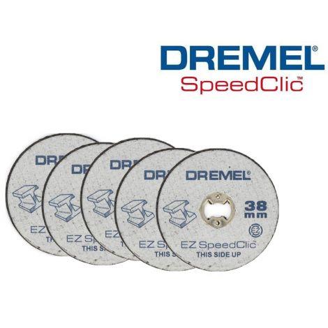 DREMEL SC456 Speedclic-katkaisulaikka 38mm (5kpl)