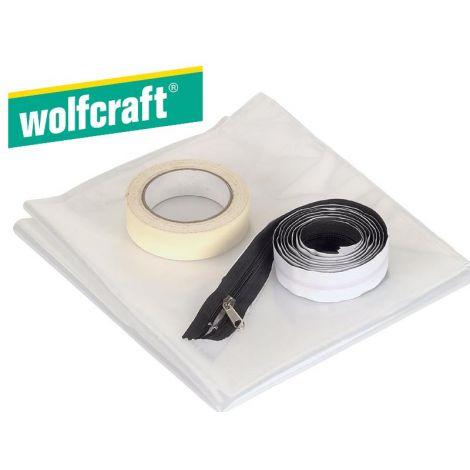 Wolfcraft oviaukon pölysuojasarja