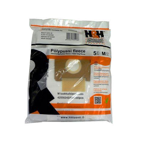 H&H fleecepussit Flex S36 (5kpl)