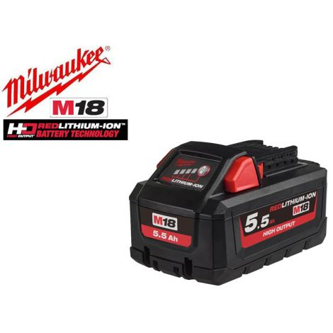 Akku Milwaukee M18 HB5.5