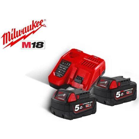 Akku+laturisarja Milwaukee M18 NRG-502