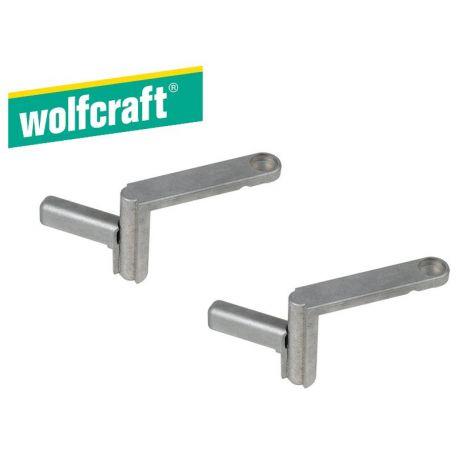 Wolfcraft työpenkin kiinnitinpuristimet (2kpl)