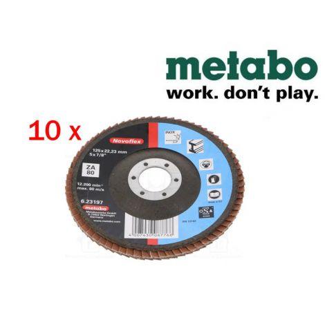 Metabo Novoflex lamellilaikat 125mm K-80 (10kpl)