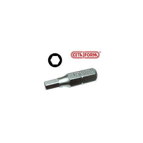 Ceta Form ruuvikärki HEX (25mm)