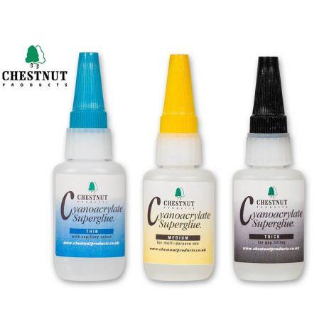 Chestnut syanoakrylaatti-pikaliima (20g)