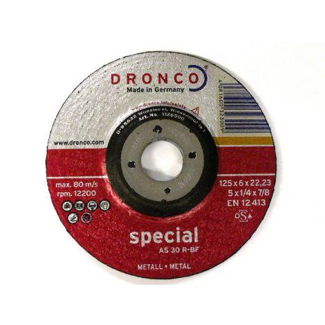 Hiomalaikka metallille 125x6,0mm Dronco Special