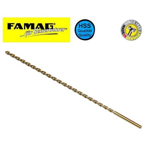 Famag HSS-G puuporat, erikoispitkät