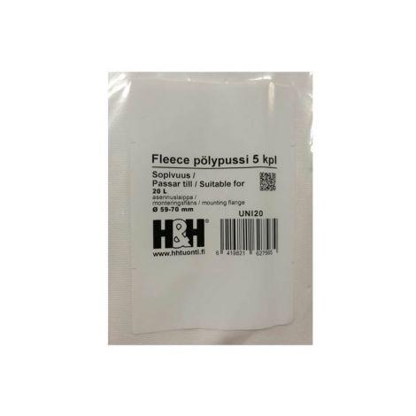 H&H fleecepussit UNI-20 (5kpl)