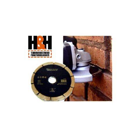 H&H timanttilaikka tiilisaumojen avaamiseen 125mm