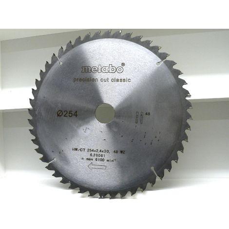 254mm Z-48 neg (30mm) METABO CLASSIC