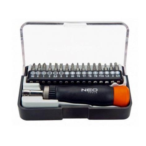 Neo-Tools hienomekaanikon ruuvimeisselisarja (17-os.)