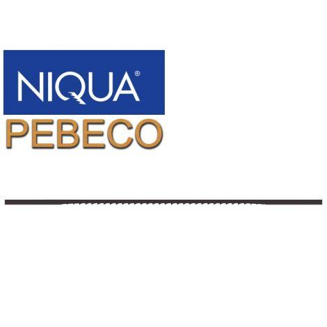 Lehtisahanterä NIQUA PEBECO (12kpl)