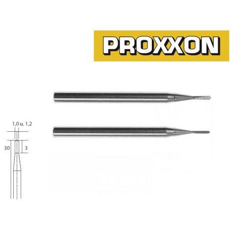Proxxon 28320 kovametallijyrsimet (1,0mm ja 1,2mm)
