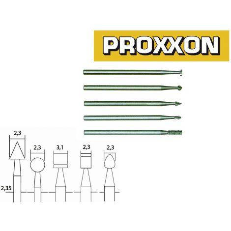 Proxxon 28710 jyrsinsarja (5-os.)