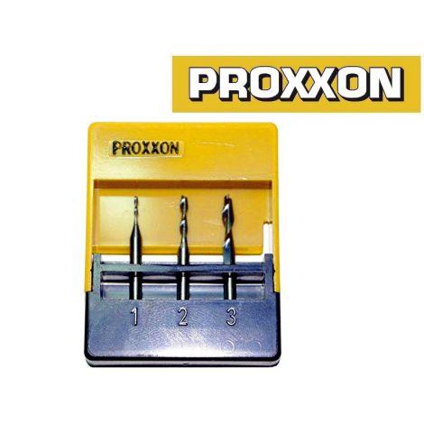 Proxxon 27116 kovametallijyrsinsarja (3-os.)