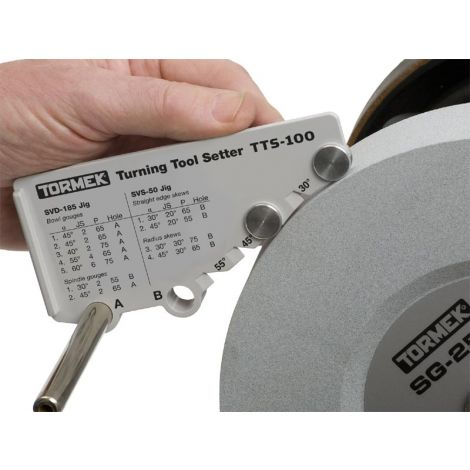 Tormek TTS-100 puunsorvaajan kulmatulkki