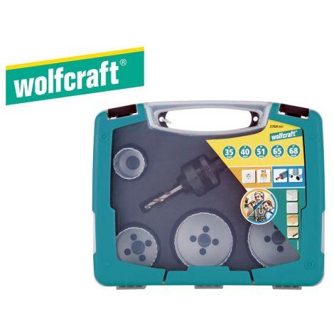 Wolfcraft reikäsahasarja (6-os.)
